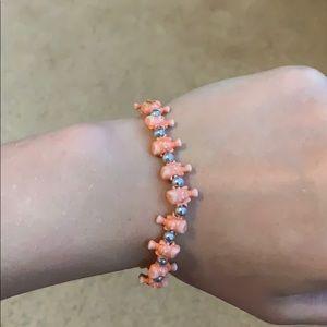 2 stretchy bracelets